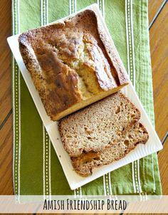 Amish Friendship Bread Starter Recipe
