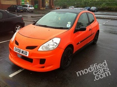 Modified Renault Clio 2008 Pictures