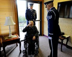 PHOTOS: WWII Veteran Honored for His Service in Touching Ceremony