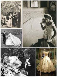 Jacqueline Bouvier married John Fitzgerald Kennedy on the morning of September 12, 1953.  She was 24, he 36. The ceremony was held at the picturesque St. Mary's Roman Catholic Church in Newport, Rhode Island.