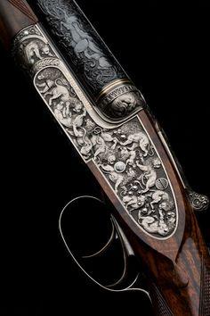 Westley Richards, Lion Rifle, Sidelock 470