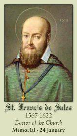 St. Francis de Sales – January 24