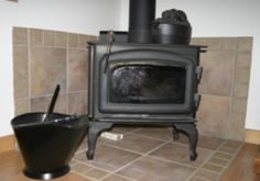 wood stove wall protection ideas | 13 Comments → Little House Stove
