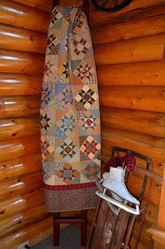 Sew'n Wild Oaks Quilting Blog: Putzing Around<<this is a quilt that always sticks in my memory.  Love it.