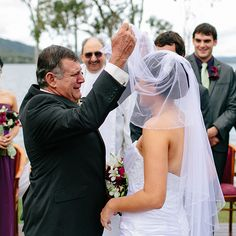 Emotional Father-of-the-Bride Photos. Matthew Evans Photography.