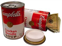 Campbell Chicken Noodle Soup Can Safe is a great way to protect some of your smaller valuables