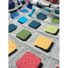Double A Design Blanket Crochet pattern by annelies baes : Double A Design Blan. Double A Design Blanket Crochet pattern by annelies baes : Double A Design Blanket Crochet pattern Crochet Afghans, Crochet Blanket Border, Crochet Quilt, Crochet Motif, Crochet Stitches, Free Crochet, Motifs Granny Square, Crochet Square Patterns, Crochet Patterns For Beginners