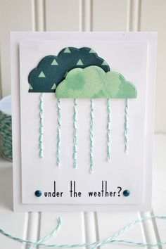 Under The Weather Card by Aly Dosdall.