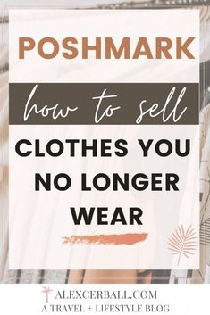 How To Sell Clothes, Selling Used Clothes, Clothes For Sale, Selling Online, Selling On Ebay, The Maxx, Thread Up, Selling On Poshmark, How To Sell On Poshmark