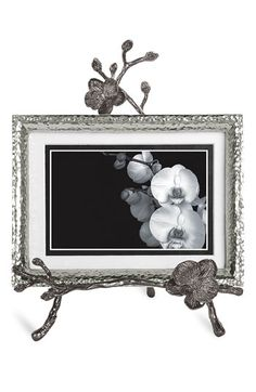 Michael Aram 'Black Orchid' Convertible Easel Frame available at #Nordstrom - have & LOVE this!