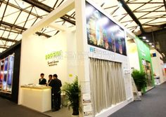 DOOYA Shanghai,China,English Booth Design,Ningbo DOOYA mechanical and electrical technology Co., Ltd. Exhibition Hall Planning【Demage English Exhibition Company】