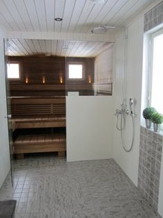 Visit the internet site click the highlighted link for additional choices -- dry heat sauna Modern Saunas, Sauna Design, Sauna Room, Spa Rooms, House Goals, Dream Rooms, Beautiful Bathrooms, Sweet Home, House Design