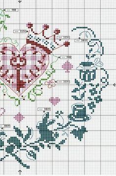 Вышивка крестом ... подборка - ко дню всех влюблённых. Обсуждение на LiveInternet - Российский Сервис Онлайн-Дневников