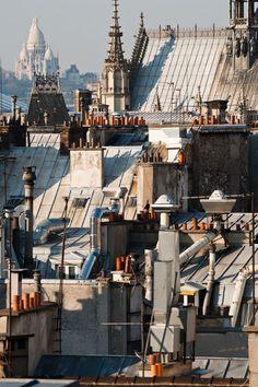 Le Sacré Coeur et les toits de Paris by Arnaud Frich #MissKL and #SpringtimeinParis