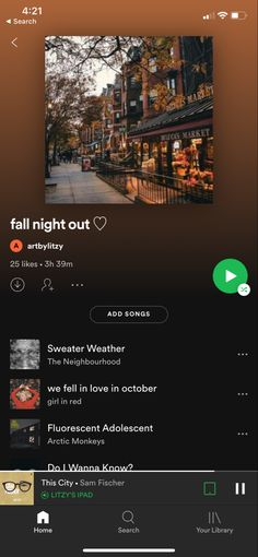 my spotify playlist