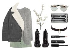 """""""Autumn"""" by baludna ❤ liked on Polyvore featuring Dr. Martens, Topshop, Pier 1 Imports, MANGO, IRO, Chicnova Fashion, Balenciaga, Charlotte Russe and NARS Cosmetics"""