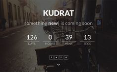 Kudrat – Responsive coming soon template. http://themifycloud.com/downloads/kudrat-responsive-coming-soon-template/