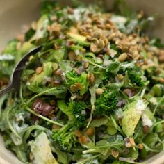 An Ideal Lunch Salad