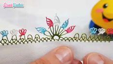Çıtı Pıtı İğne Oyası Beş Yapraklı Çiçek Yapımı Videolu Anlatımlı #elişi #örgü #moda