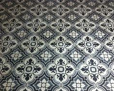 Flowerz 4 portugese tegels,cementtegels