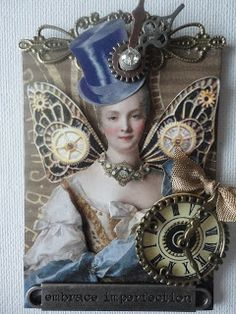 BLISS ANGELS: STEAMPUNK MARIE (24214)