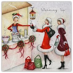 Warming up - by Berni Parker Designs