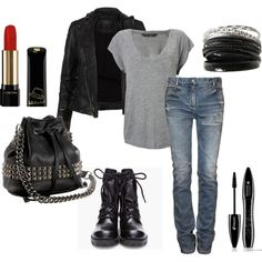 Ideas For Style Rock Chic Rocker Chick Purses style 438256607489955936 Biker Chick Outfit, Biker Chick Style, Motorcycle Boots Outfit, Rocker Chick, Hipster Outfits, Rock Chic Outfits, Ourfit, Trendy Fashion, Fashion Looks