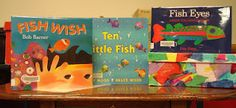fish storytime with crafts, songs and dance.