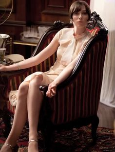 Elizabeth Debicki As Kordan Baker at Park Plaza Set