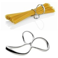 Spaghetti measure, Alessi, Voile by Paolo Gerosa, stainless steelPlaceholder
