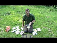 How To Pack A Week's Food Into A PLCE Side Pocket - YouTube