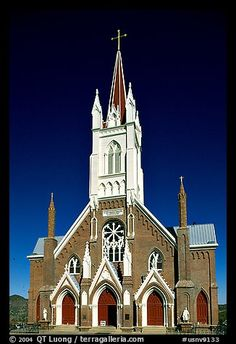 St Mary in the Mountains Church, . Virginia City, Nevada, USA
