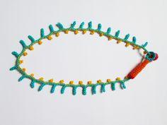 https://flic.kr/p/eL29mw | revés del collar tejido