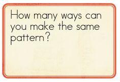 math journal...great ideas!