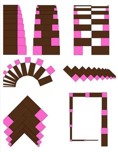 Senorial Extensions....pink tower and brown stairs extension exercises, free printable