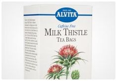 Milk Thistle Tea- The benefits to the liver make milk thistle tea worth drinking. The liver is the focal point of your organs, and when it i...
