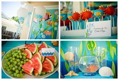 Under the Sea Summer Party Ideas | Photo 3 of 33 | Catch My Party