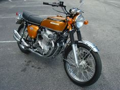 HONDA CB 750 1971 K1 - 3183 ORIGINAL MILES............and its orange : )