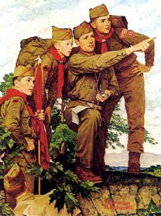 http://www.flagsbay.com/flag/2007/08/03/norman-rockwells-boy-scouts/