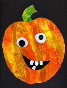 that artist woman: Mixed Media Pumpkins - use to make Halloween cards Fall Art Projects, School Art Projects, Pumpkin Art, Pumpkin Crafts, Pumpkin Painting, Theme Halloween, Halloween Crafts For Kids, Halloween Projects, Art Plastique Halloween Maternelle