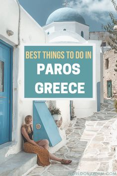 Looking for the best things to do in Paros, Greece? Check out the ultimate travel guide to the island of Paros! You will discover the best Paros hotels, what to do in Paros, how to get to Paros, and learn about the towns of Paros. Best Island Vacation, Greece Vacation, Greece Travel, Greece Trip, Santorini Travel, Greece Photography, Scenic Photography, Night Photography, Photography Tips