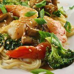 Shrimp with Broccoli in Garlic Sauce, naples34102