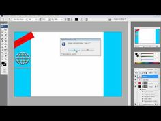 How To Make Your Own Twitter Background - Tutorial