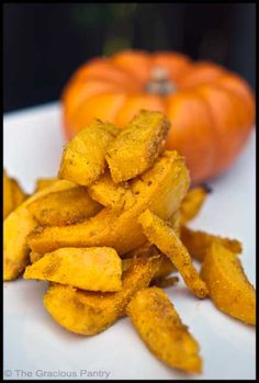 Clean Eating Pumpkin Fries