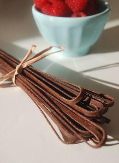 Homemade Chocolate Pasta