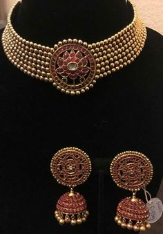 Buy Jewellery Online in India Antique Jewellery Designs, Fancy Jewellery, Gold Jewellery Design, Stylish Jewelry, Gold Jewelry, Temple Jewellery, Indian Jewelry Sets, Indian Wedding Jewelry, Bridal Jewelry