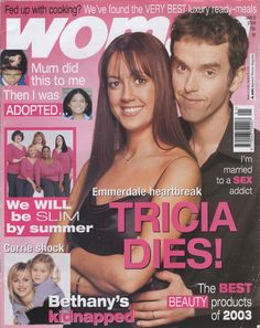 Woman Magazine Cover - January 2005 - This edition features the Ariane Poole, the Ariane Poole, Concealer Palette on page 36.