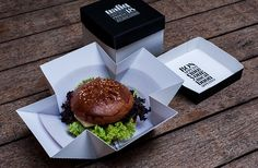 Food packaging for club, restaurant and bar Trafiq created by Kiss Miklos.
