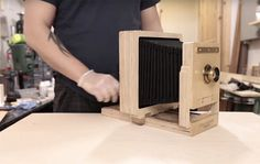 Building a 45 Wet Plate Camera Out of Plywood with a CNC Machine