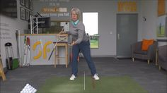 Never hit a fat golf shot again, by learning how to move your pelvis cor...